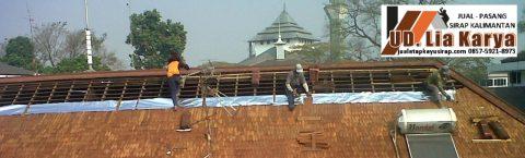 Atap Sirap KALIMANTAN